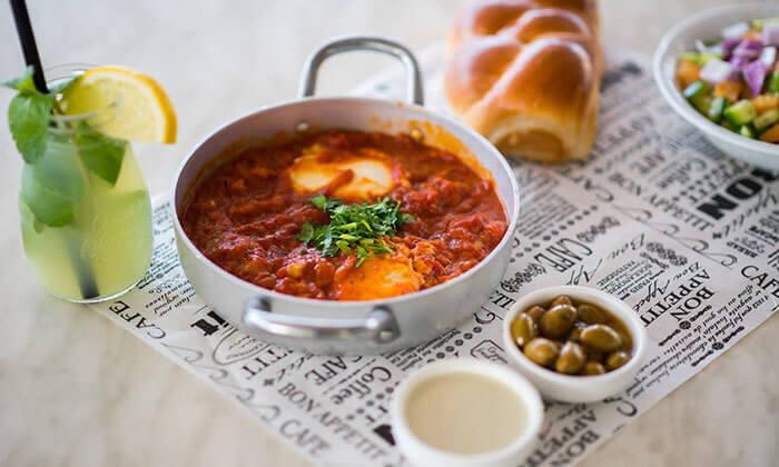 3 ארוחת בוקר זוגית בפרדיסו, אשקלון