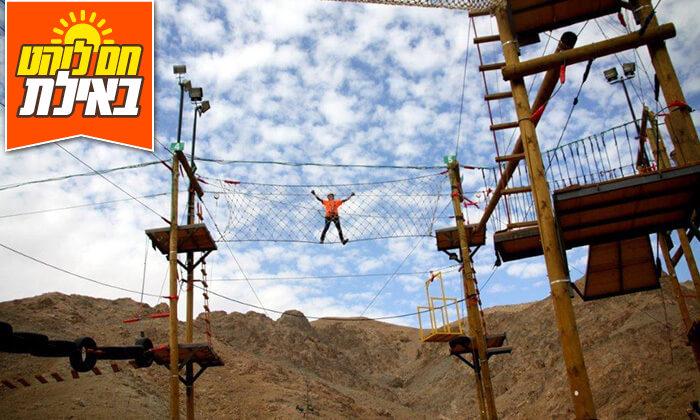 10 פעילות אתגרית בחוות הגמלים אילת