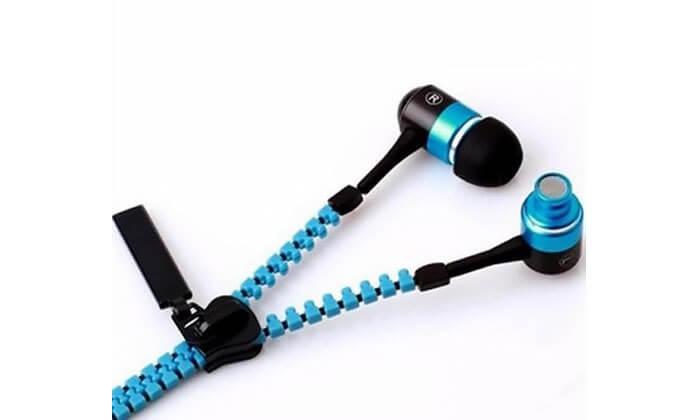 2 אוזניות אלומיניוםZIP