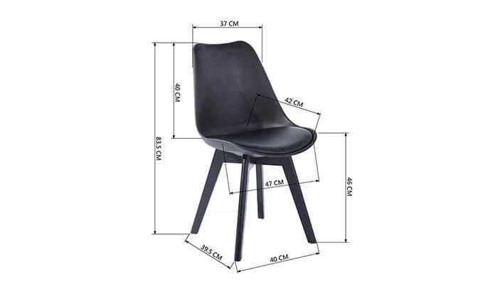 9 כסא מרופד לפינת אוכל HOMAX