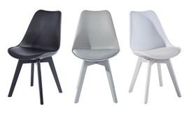 כסא מרופד לפינת אוכל של HOMAX