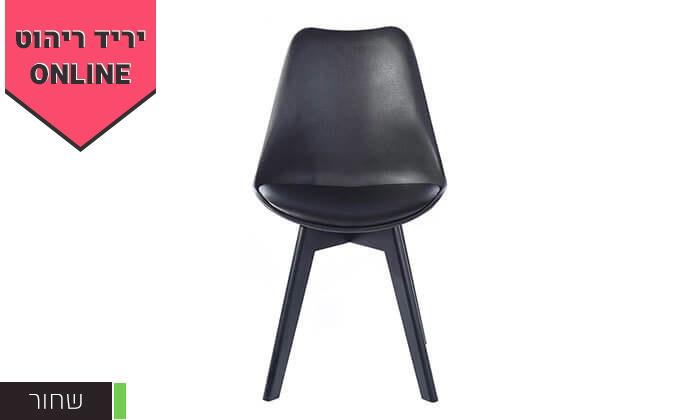 4 כסא מרופד לפינת אוכל HOMAX