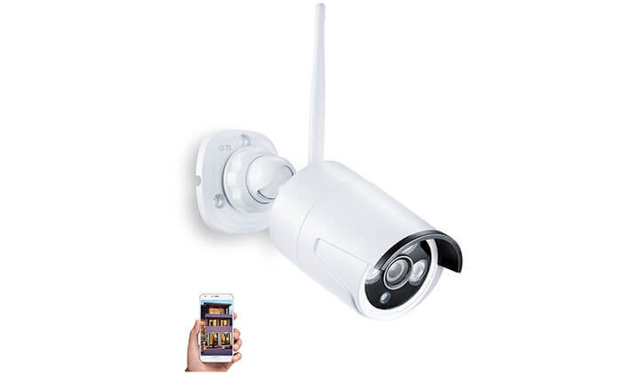 2 מצלמת אבטחה ממוגנת אלחוטית