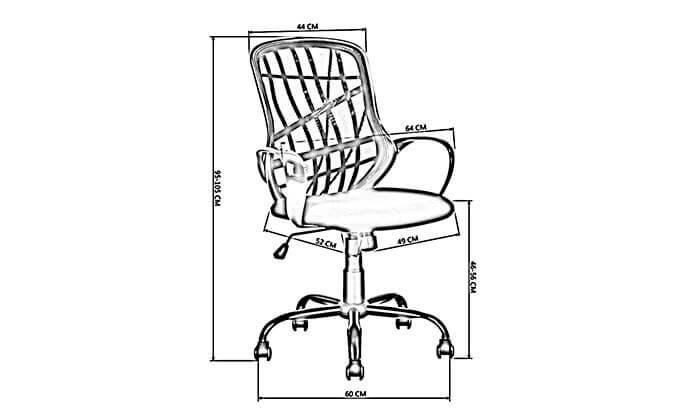 3 כסא משרדים HOMAX