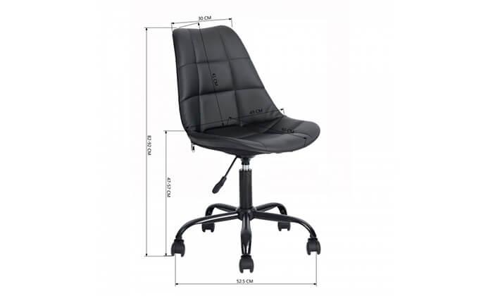 7 כסא על גלגלים לבית ולמשרד Homax