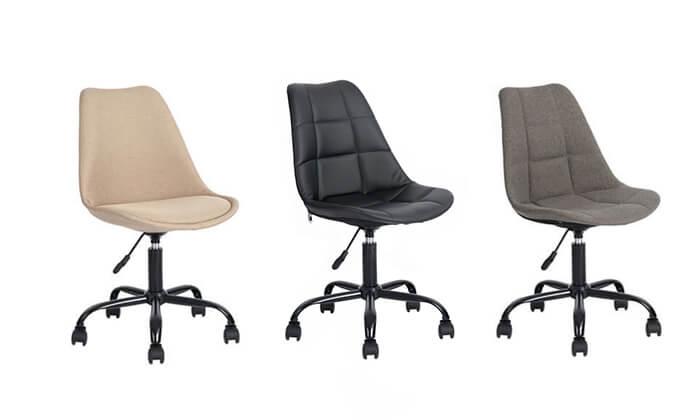 12 כסא על גלגלים לבית ולמשרד Homax