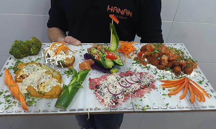 4 ארוחת דגים זוגית במסעדת חנאן, אזור מעלות - תרשיחא