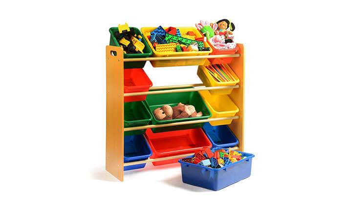 6 ארגונית צעצועים לילדים 4קומות