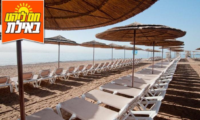 8 יום פינוק עם עיסוי ב-Share Spa מלון יו קורל ביץ', אילת