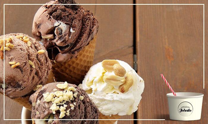 3 מילקשייק או גלידה בג'וניטו, ירושלים