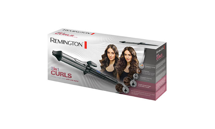 4 מסלסל שיער REMINGTON דגם CI67E1