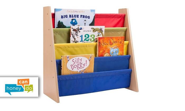 2 ארגונית ספרים לילדים HONEY CAN DO