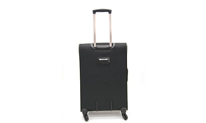 4 סט 3 מזוודות בד SWISS BRAND
