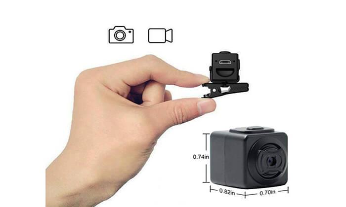 4 מצלמת וידאו זעירה