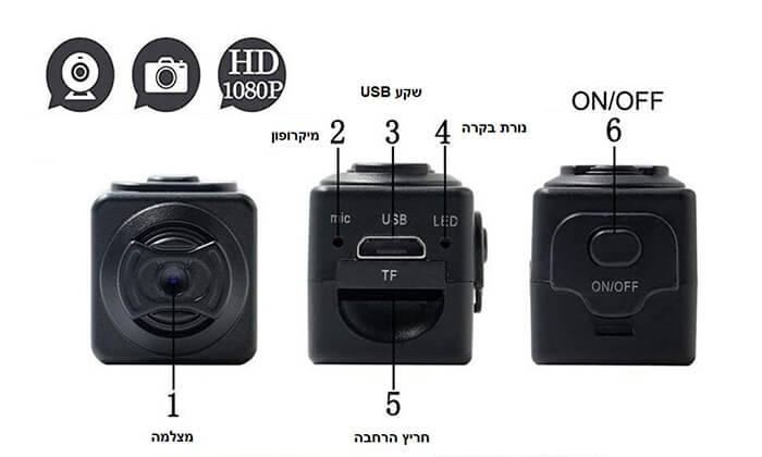 6 מצלמת וידאו זעירה