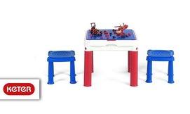 שולחן יצירה ומשחק כתר