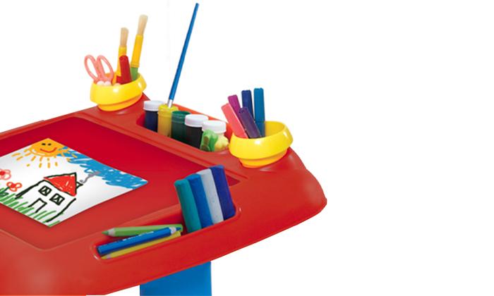 4 כתר: שולחן ילדים לבית ולגינה