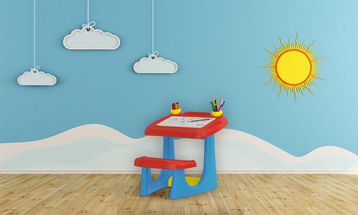 10 כתר: שולחן ילדים לבית ולגינה
