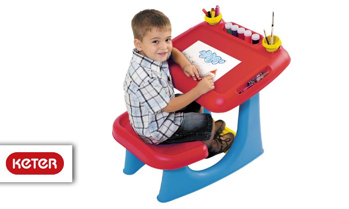 2 כתר: שולחן ילדים לבית ולגינה