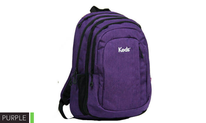 5 תיק גב למחשב נייד KEDS-קדס