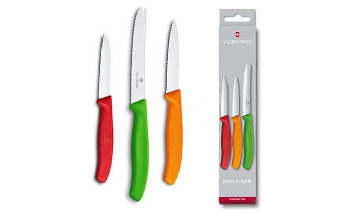 8 מארז 3 סכיני VICTORINOX