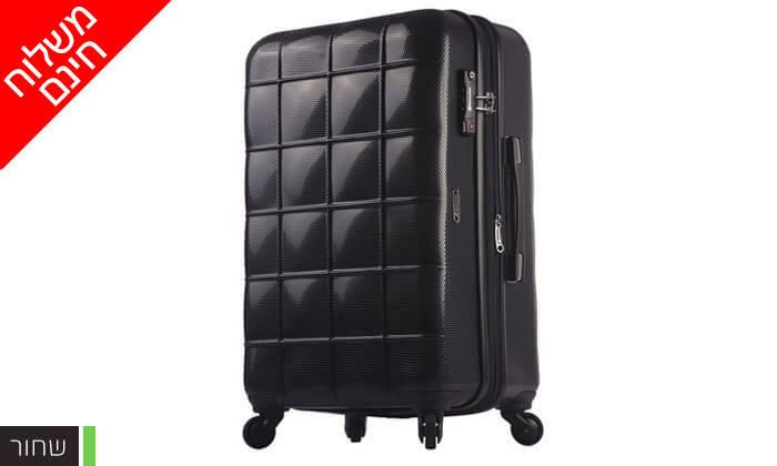 5 סט 3 מזוודות קשיחות ECHOLAC - משלוח חינם!