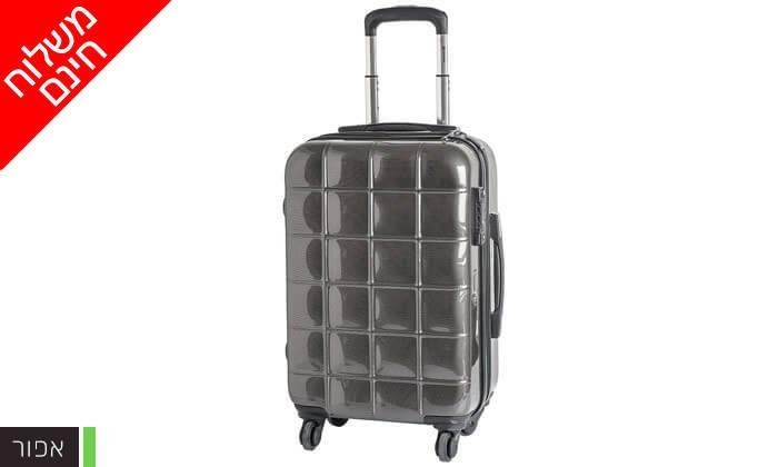 8 סט 3 מזוודות קשיחות ECHOLAC - משלוח חינם!