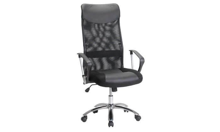 2 כסאמנהלים עם גב רשת