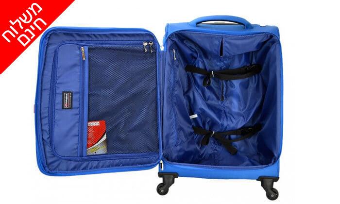 4 סט 3 מזוודותECHOLIGHT - משלוח חינם!