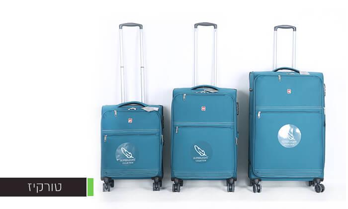 4 סט 3 מזוודותSWISS PREMIUM X9000