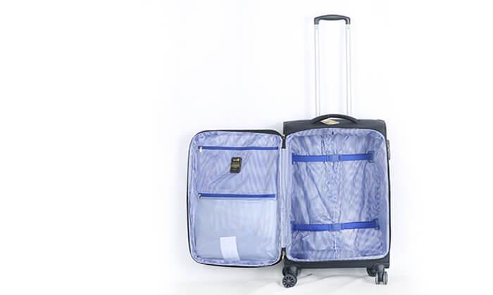 6 סט 3 מזוודותSWISS PREMIUM X9000