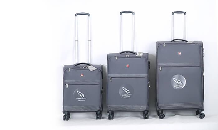 9 סט 3 מזוודותSWISS PREMIUM X9000