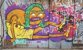 """סיורגרפיטי ואומנות רחוב, ת""""א"""