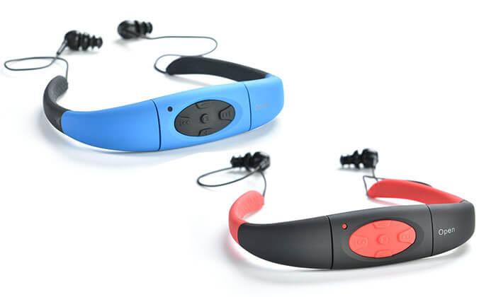 2 נגן מוסיקה MP3 לשחייה