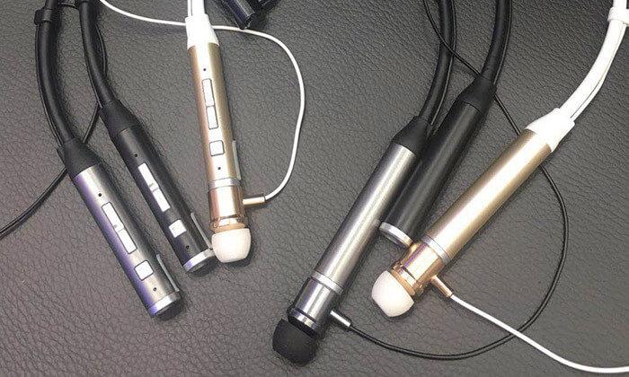 3 אוזניות ספורט אלחוטיות עם קשת עורף