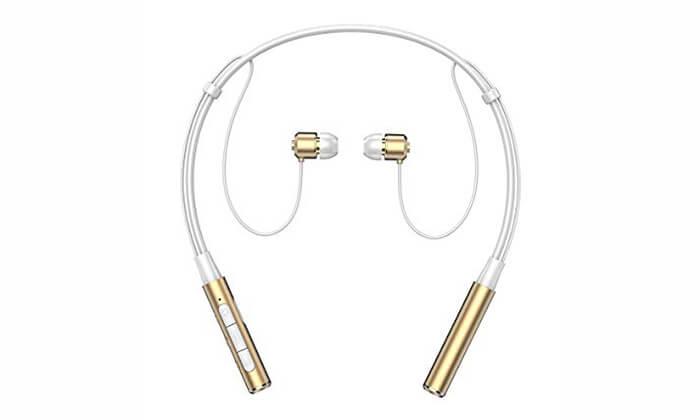 2 אוזניות ספורט אלחוטיות עם קשת עורף