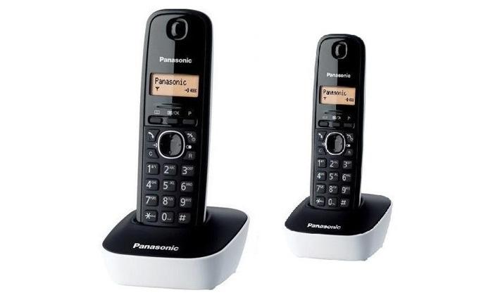 2 טלפון אלחוטי ושלוחה נוספת פנסוניק PANASONIC