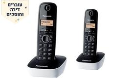 טלפון אלחוטי ושלוחה PANASONIC