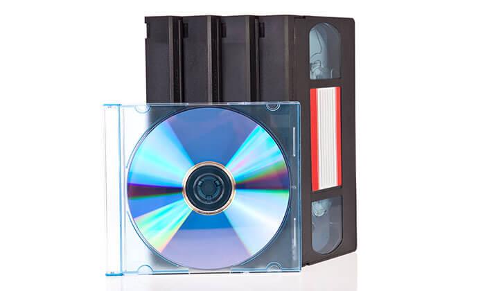 2 מטאור הפקות ביהוד - המרת קלטת וידאו ל-DVD