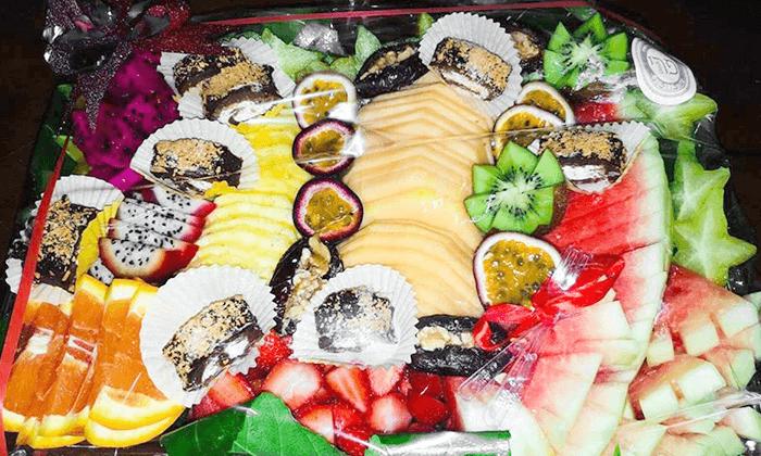 5 מגש סושי קינוחים או מגש פירות אקזוטיים של פריסושי, באר שבע