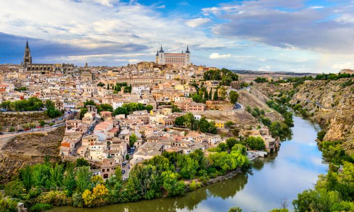 3 סיורים בעיר מדריד, טולדו וסגוביה, כולל סיור מתנה