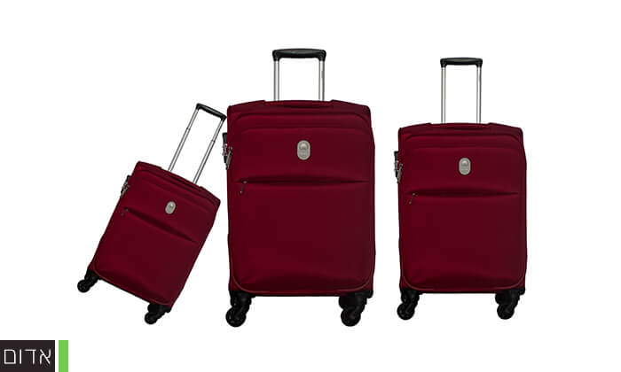 3 סט 3 מזוודות דלסי DELSEY