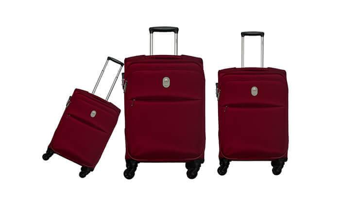 7 סט 3 מזוודות דלסי DELSEY