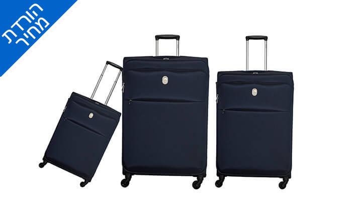 6 סט 3 מזוודות דלסי DELSEY