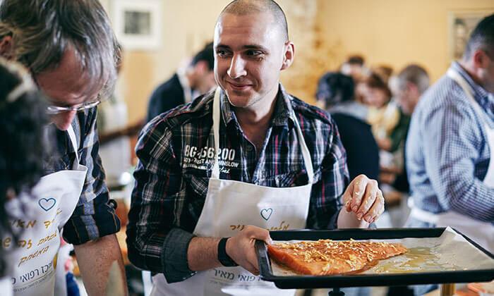 14 סדנת בישול לבחירה, מבשלים חוויה - הבית של סדנאות הבישול, תל אביב