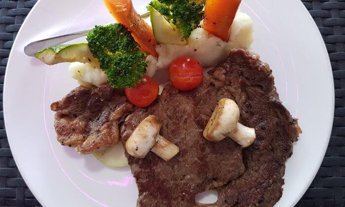 7 ארוחה זוגית כשרה במסעדת Steak One, מתחם One באר שבע