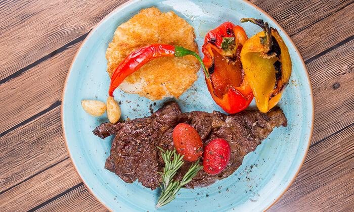 4 ארוחה זוגית כשרה במסעדת Steak One, מתחם One באר שבע