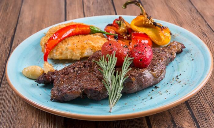 2 ארוחה זוגית כשרה במסעדת Steak One, מתחם One באר שבע