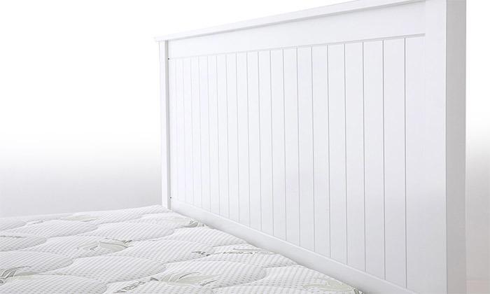 5  שמרת הזורע - מיטה עם בסיס עץ משולב