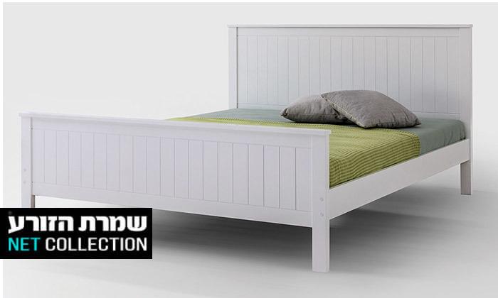 2  שמרת הזורע - מיטה עם בסיס עץ משולב